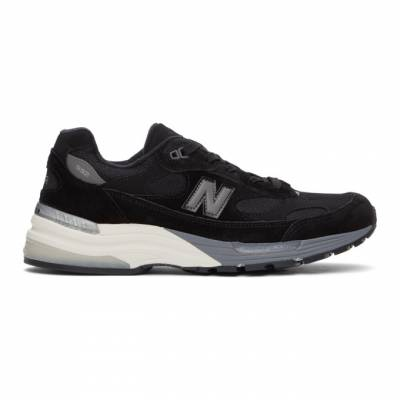 New Balance Black Made In US 990 v5 Sneakers M990BK5 - 1