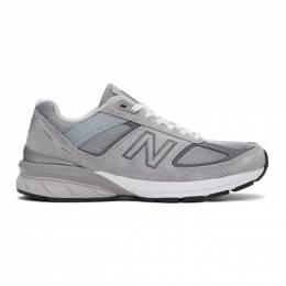 New Balance Grey Made In US 990 v5 Sneakers M990GL5