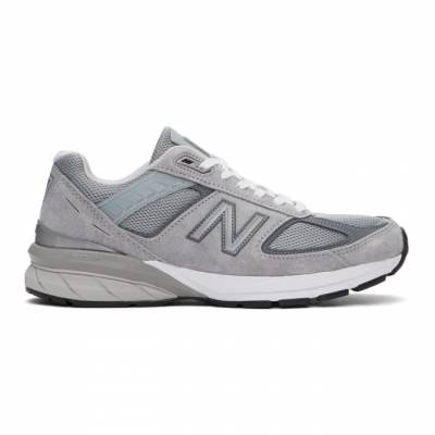 New Balance Grey Made In US 990 v5 Sneakers M990GL5 - 1