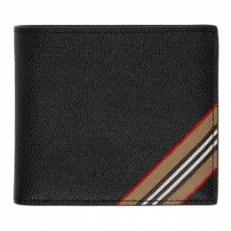 Burberry Black Stripe International Wallet 8033072