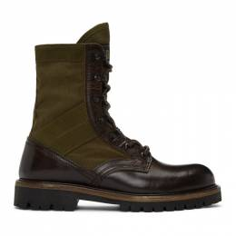 Belstaff Brown Trooper Boots 1058782