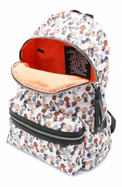 Рюкзак The Backpack large Peanuts x Marc Jacobs MARC JACOBS (THE) M0016562 - 4