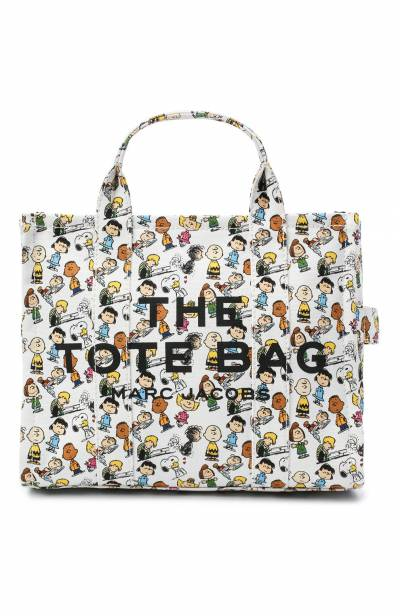 Сумка-тоут The Traveller Small Peanuts x Marc Jacobs MARC JACOBS (THE) M0016660 - 1