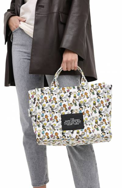 Сумка-тоут The Traveller Small Peanuts x Marc Jacobs MARC JACOBS (THE) M0016660 - 2