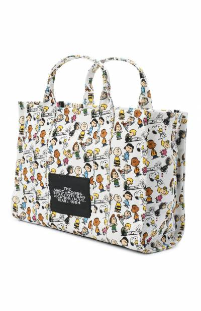 Сумка-тоут The Traveller Small Peanuts x Marc Jacobs MARC JACOBS (THE) M0016660 - 3