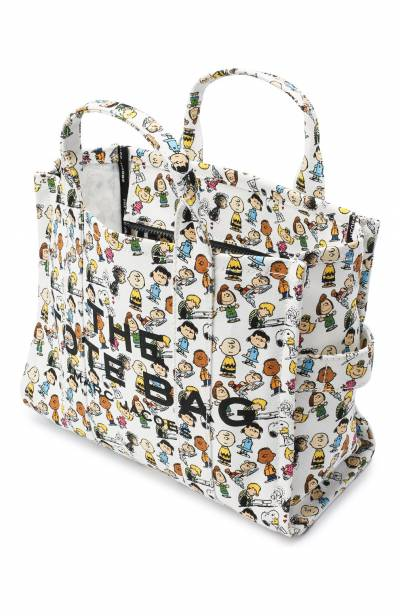 Сумка-тоут The Traveller Small Peanuts x Marc Jacobs MARC JACOBS (THE) M0016660 - 4