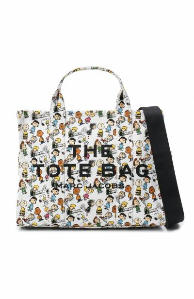 Сумка-тоут The Traveller Small Peanuts x Marc Jacobs MARC JACOBS (THE) M0016660 - 5