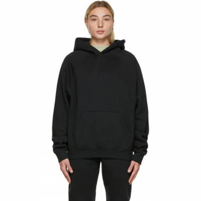 Essentials Black Pullover Hoodie 192BT202005F - 1