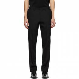 Burberry Black Wool Trousers 4565292