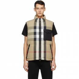 Burberry Reversible Recycled Down Vest 8036459