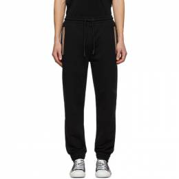 Burberry Black Barns Lounge Pants 8033395