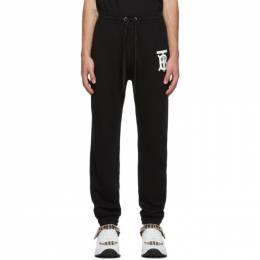 Burberry Black Gresham Lounge Pants 8024607