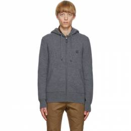 Burberry Grey Cashmere Lindley Hoodie 8033425