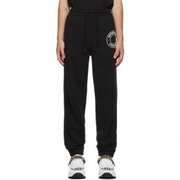 Burberry Black Logo Lounge Pants 8034562