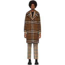 Burberry Brown Check Purton Coat 8036111