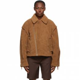 Ader Error Brown Placid Jacket BTAFWJK10BR