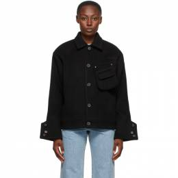 Ader Error Black Wool Menard Jacket BTAFWPE04BK