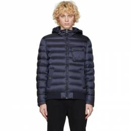 Belstaff Navy Down Streamline Puffer Jacket 71020854 C50N0638