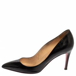 Christian Louboutin Black Patent Leather So Kate Pumps Size 38.5 340060