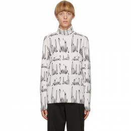 Paul Smith Off-White Gents Archive Logo Sweater M1R-397U-EP2346-02