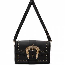 Versace Jeans Couture Black Couture 1 Buckle Bag EE1VZBBEBE71407E427