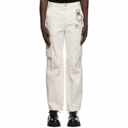 Wooyoungmi Off-White Denim Cargo Pants PT14