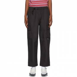 Stussy Black Solid Taped Seam Cargo Pants 116451