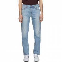 Nudie Jeans Blue Gritty Jackson Jeans 113490