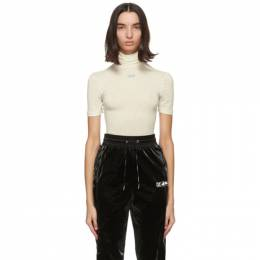 Off-White Off-White Jersey Short Sleeve Turtleneck OWAD137F20JER0016136