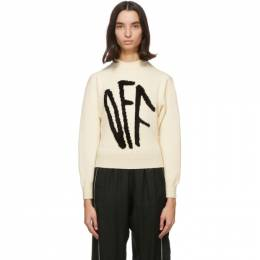 Off-White Off-White Graffiti Sweater OWHE017F20KNI0016110