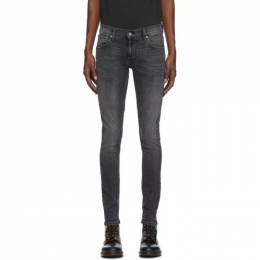 Nudie Jeans Grey Tight Terry Jeans 113451