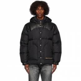Mastermind World Black Rocky Mountain Featherbed Edition Down Parka MJ20C05-BL501