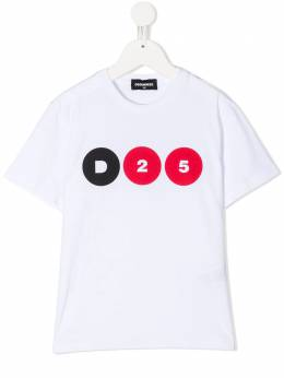 Dsquared2 Kids футболка с логотипом DQ04JHD004B