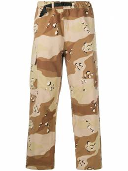 Stussy camouflage print cargo trousers 116450