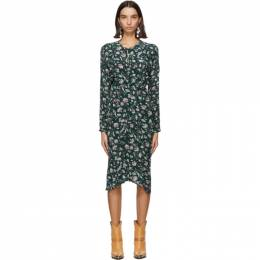 Isabel Marant Green Kelky Dress 20HRO1851-20H044I