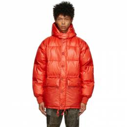 Red Down Expedition Parka 1118-5511-139 BEAMS PLUS