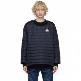 Y / Project Navy Canada Goose Edition Down Hybridge Pullover YPCGMPULL2
