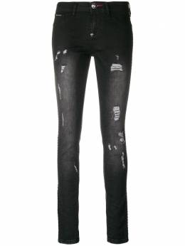 Philipp Plein slim distressed jeans WDT0781PDE004N