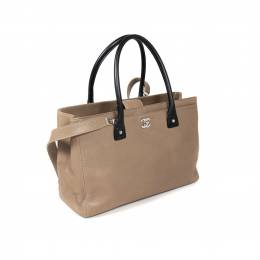 Chanel Brown Leather Executive Cerf Tote Bag 352669