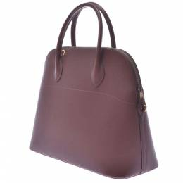 Hermes Brown Courchevel Bolide 35 Bag 336624