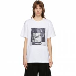Juun.J White Graphic T-Shirt JW0842W011