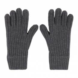 Burberry Grey Cashmere Lined Gloves 8036242