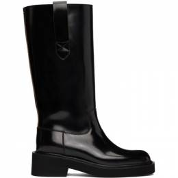Maison Margiela Black Large Tall Boots S39WW0055 P3870