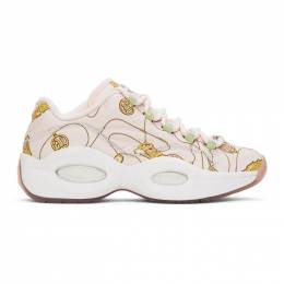 Pink Reebok Edition BBC Question Low Sneakers FZ4341 Billionaire Boys Club