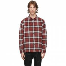 Officine Generale Red Check Barry Shirt W20MSHI027