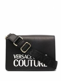 Versace Jeans Couture каркасная сумка с логотипом EE1VZABP7E71413