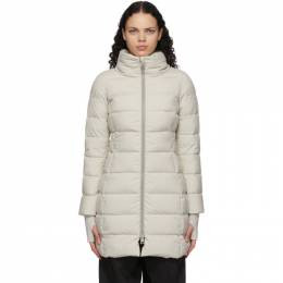 Herno Off-White Down Gore-Tex® Long Jacket PI080DL 11106
