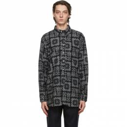 Black Bandana Print Shirt 20F1A001 Engineered Garments