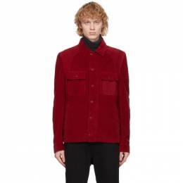 Belstaff Red Corduroy Rack Jacket 71050545 C61A0515