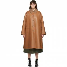 Loewe Tan Nappa Leather Coat S540336X66